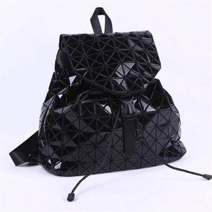 Handbags - 🆕  Geometric Black Patent Leather Like backpack